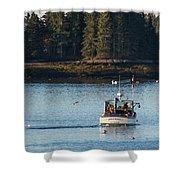 Jonespot, Maine  Shower Curtain