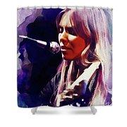 Joni Mitchell, Music Legend Shower Curtain