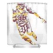 Jordan Reed Washington Redskins Pixel Art 5 Shower Curtain