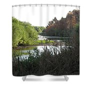 Jordan River 2 Shower Curtain