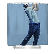 Jordan Spieth  Shower Curtain