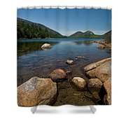 Jordon Pond Shower Curtain