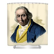Joseph-marie Jacquard, French Inventor Shower Curtain