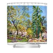 Josephine Gardens Shower Curtain