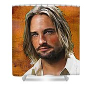Josh Holloway Shower Curtain