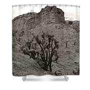 Joshua Hillside Number Two Shower Curtain