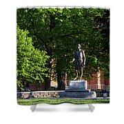 Joshua Lawrence Chamberlain Statue, Brunswick, Maine #0013 Shower Curtain