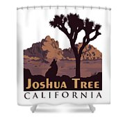 Joshua Tree. Shower Curtain