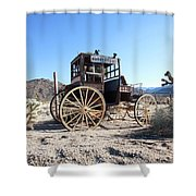 Joshua Tree National Park, California Shower Curtain