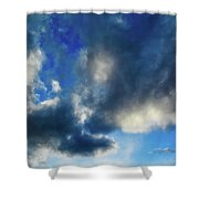 Joshua Tree Sky Shower Curtain