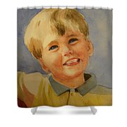 Joshua's Brother Shower Curtain