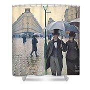 Jour De Pluie A Paris Shower Curtain