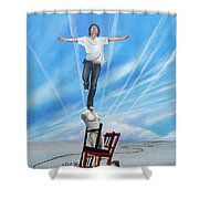 Journey Of A Creative Soul Shower Curtain