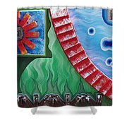 Journey Of Life Shower Curtain