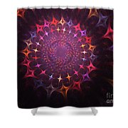 Journey Of The Souls Shower Curtain