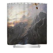 Journey To Infinity Shower Curtain