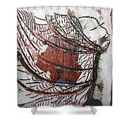 Journeys 13 - Tile Shower Curtain