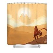 Journey's Beginning Shower Curtain