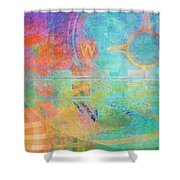 Journeys Shower Curtain