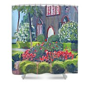 Joy At The Church Of The Cross Shower Curtain