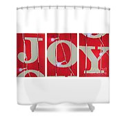 Joy Lights Up My Life Shower Curtain