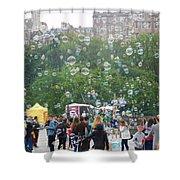 Joy Of Bubbles Shower Curtain