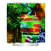 Joy Of Christmas 1 Shower Curtain