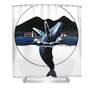 Joy Robert Lyn Nelson Shower Curtain