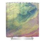 Joy Shower Curtain by Sonya Wilson
