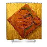 Joy Tears - Tile Shower Curtain