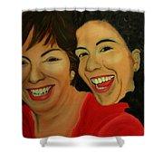 Joyce And Gina Shower Curtain
