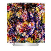 Joyful Clown Shower Curtain