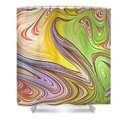 Joyful Flow Shower Curtain
