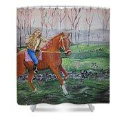 Joyful Ride Shower Curtain