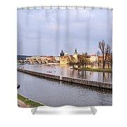 Joyful River Shower Curtain