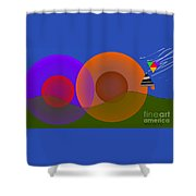 Joyful Shapes Shower Curtain
