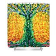 Joyful Tree Shower Curtain