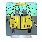 Joyride Shower Curtain