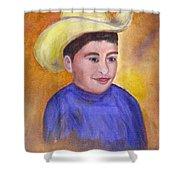 Juan, 16x20, Oil, '07 Shower Curtain