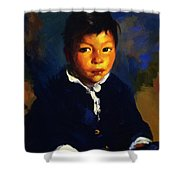 Juanita Also Known As Little Half Breed 1917 Shower Curtain