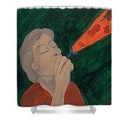 Juanita Faye Persing Delvisco Shower Curtain