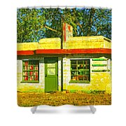 Juarez Motel Shower Curtain