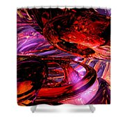 Jubilee Abstract Shower Curtain