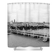 Jubilee Bridge Shower Curtain