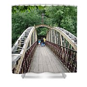 Jubilee Bridge - Matlock Bath Shower Curtain