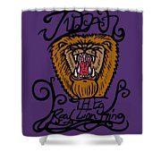 Judah The Real Lion King Shower Curtain