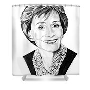 Judge Judith Sheindlin Shower Curtain