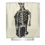Judge Oscar O. Death Shower Curtain