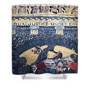Judge Richard J Leon Complicity  Shower Curtain