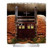 Judgement Day Shower Curtain